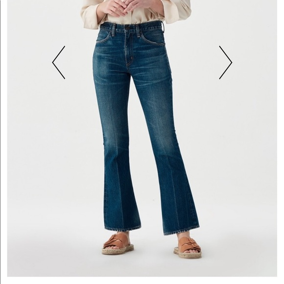 newest style of lower price with enjoy discount price Citizens of Humanity Kaya mid rise kick flare jean